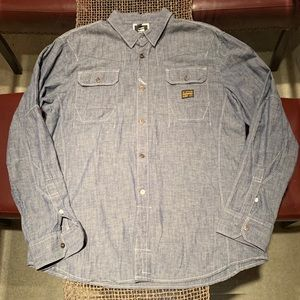 Men's G-Star RAW chambray shirt